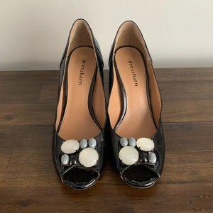 DressBarn peep-toe pumps